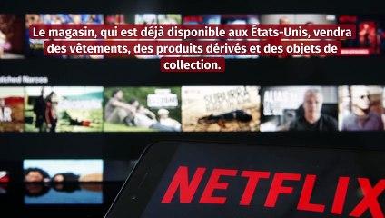 Netflix lance une boutique en ligne avec des vêtements exclusifs de ses séries