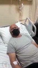 Tozkoparan'da elektriği kesilen yurttaş düşerek beyin kanaması geçirdi