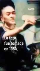 Este fue el último beso documentado de la artista mexicana.