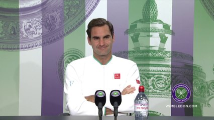 """Wimbledon 2021 - Roger Federer : """"J'aimerais pouvoir revenir mais à mon âge on ne peut pas savoir"""""""