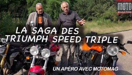 27 ans de Triumph Speed Triple - Un Apéro avec Moto Magazine