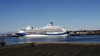 TUI Marella Explorer 2 cruise ship arrives at Port of Tyne