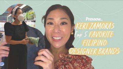 Keri Zamora's Filipino-Made Designer Collection Includes Modern Terno Tops   Designer Favorites   PREVIEW