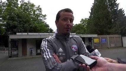 """Julien Stéphan : """"Savoir être patient"""" !"""