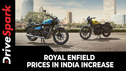 Royal Enfield Prices In India Increase | Royal Enfield Motorcycles' Prices Hiked