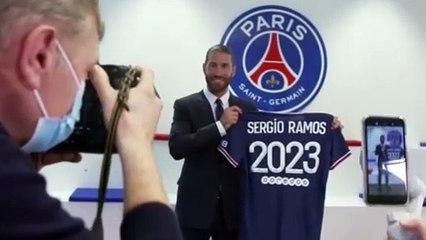 Sergio Ramos ya es jugador del PSG