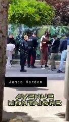 James Harden contrôlé à Paris... mais relâché