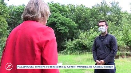 POLÉMIQUE / Tensions et démissions au Conseil municipal de Château Renault