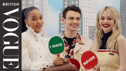 """The New Stars Of Gossip Girl Play """"Never Have I Ever"""""""