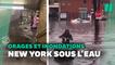 Avant la tempête Elsa, déjà des inondations à New York