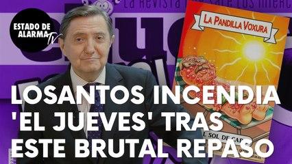 """Federico Jiménez Losantos incendia la revista 'El Jueves' tras este brutal repaso: """"So imbécil…"""""""