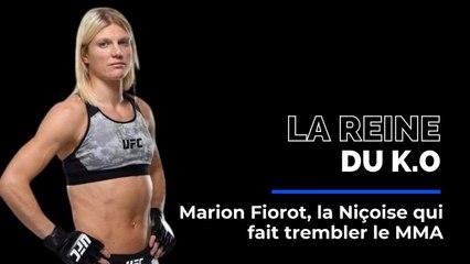 Marion Fiorot, la Niçoise qui fait trembler le MMA