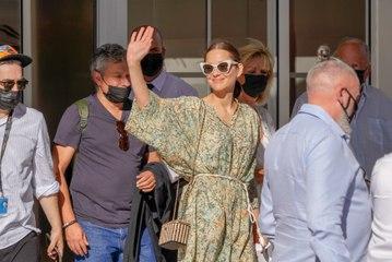 PHOTO : Après sa combinaison cycliste très critiquée à Cannes, Marion Cotillard dégaine les sabots... fallait oser !