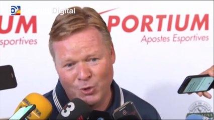 """Koeman sobre la continuidad de Messi: """"Es muy importante que se quede para el club y para la liga española"""""""