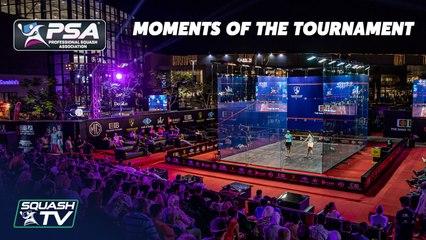 Squash: PSA World Tour Finals 2020-21 - Moments of the Tournament