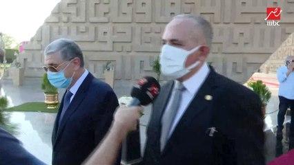توافد وزراء وسفراء على الجنازة العسكرية للسيدة جيهان السادات