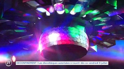 Le Journal - 09/07/2021 - DÉCONFINEMENT / Les discothèques autorisées à rouvrir dès ce vendredi 9 juillet