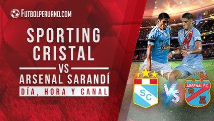 Pronóstico del Sporting Cristal vs Arsenal Sarandí: Día, hora y canal por la Copa Sudamericana