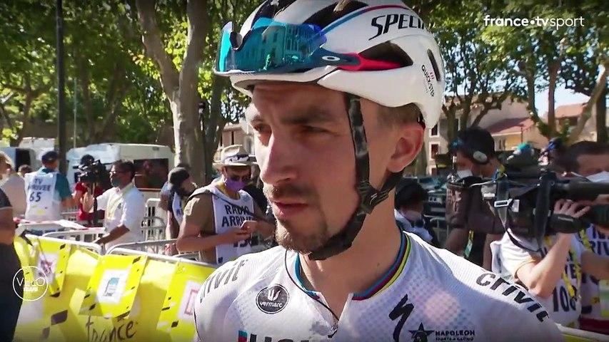 Julian Alaphilippe : L'équipe a fait un énorme travail aujourd'hui