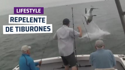[CH] Repelente de tiburones para pescadores