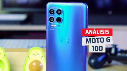 Análisis Motorola Moto G100