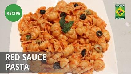 Red Sauce Pasta Recipe | Dawat | Abida Baloch | Fusion Food | Masala TV | Food Court