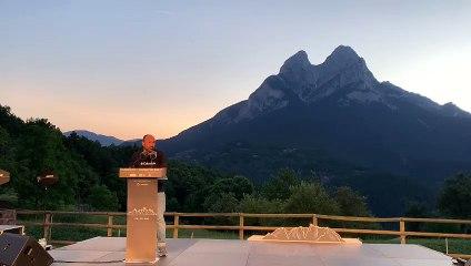 Discurs de Marcel Mauri, vice-president d'Òmnium Cultural, a la presentació de la Via Pirinenca