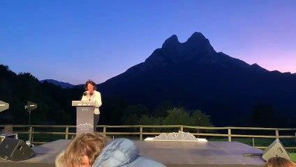 Discurs d'Elisenda Paluzie, presidenta de l'ANC, a la presentació de la Via Pirinenca