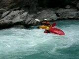 REGIS canoe vague du rabioux