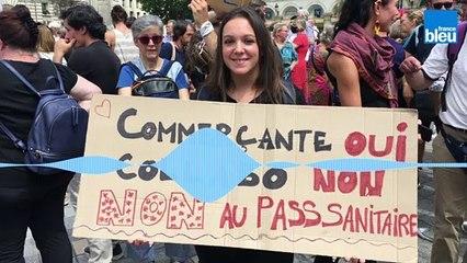 """""""Défendre la liberté de ne pas contrôler ses concitoyens"""" - Angy, commerçante et restauratrice"""