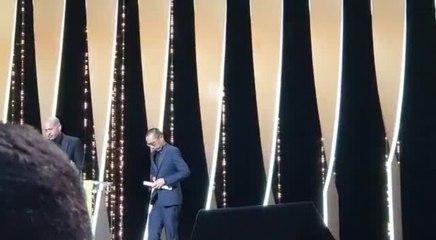 Israeli director Nadav Lapid wins the Jury Prize at Cannes Film Festival  (Credit: Iris Zaki)