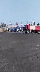 Togo: On en sait un peu plus sur l'incendie au Port de Lomé ( vidéo)