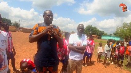 Première édition du prix d'excellence  Touré Daniel à N'guessankro (Bongouanou) organisée par l'ONG Atchôlia