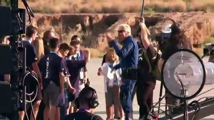 Tourisme spatial - pari réussi pour Richard Branson et son vaisseau supersonique