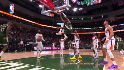 Giannis drops 41 pts to lead Bucks blowout against Suns in Game 3