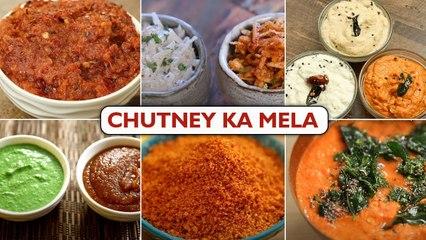 Chutney Ka Mela   How To Make Tasty Chutney   Different Types Of Chutney   Chutney Recipe In Hindi