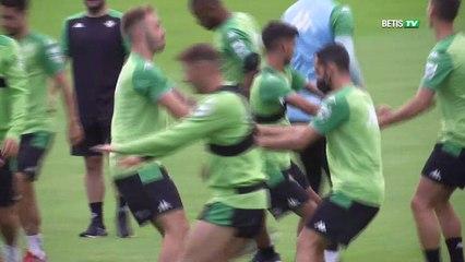 Entrenamiento del Real Betis en Suiza - 12/07/21