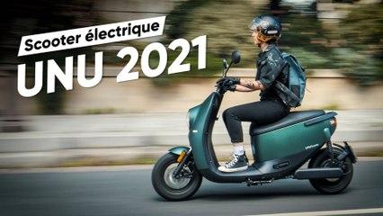 Test du Unu 2021 : le plus beau des scooters électriques