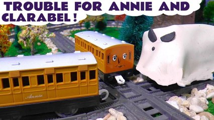 Thomas and Friends Toy Trains Coaches Annie and Clarabel Trouble in this Stop Motion Toys Animation Video for Kids Full Episode English by Kid Friendly Family Channel Toy Trains 4U