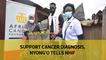 Support cancer diagnosis, Nyong'o tells NHIF