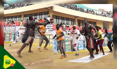 Arène nationale : Modou Dia assure le Show