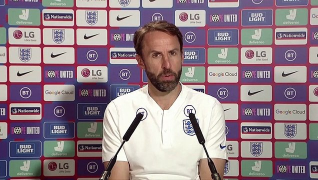 England Manager Gareth Southgate condemns the 'unforgivable' online racist abuse of players