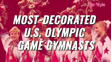 Most-Decorated U.S. Olympic Game Gymnasts of All Time