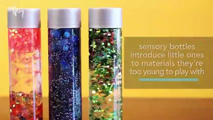 How You Can Make These Cool Sensory Bottles for Kids to Help Them Calm Down