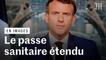 Macron annonce le passe sanitaire élargi début août et le vaccin obligatoire pour les soignants