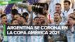 Argentina vence a Brasil y es Campeón de la Copa América