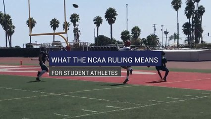 What The NCAA Ruling Means For Student Athletes