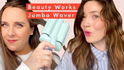 Beauty Lab test the Beauty Works Jumbo Waver
