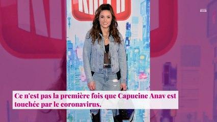 """Capucine Anav positive à la Covid-19 pour la 2e fois : elle se dit """"épuisée"""" et met en garde"""