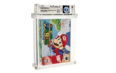 Super Mario '64 es vendido en una subasta por un récord de $1,5 millones